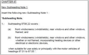 Para-brisa para veículos automóveis